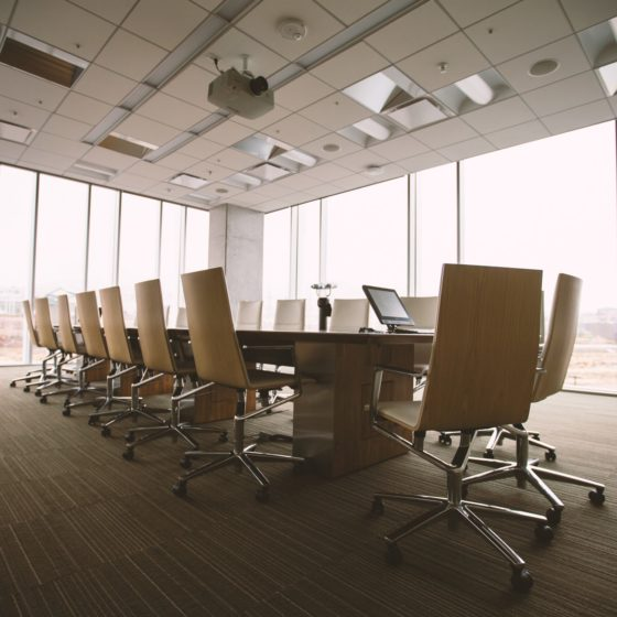 Solutions coupe-feu adaptées aux bureaux