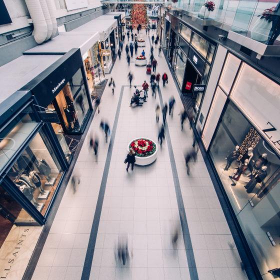 Solutions coupe-feu adaptées aux centres commerciaux