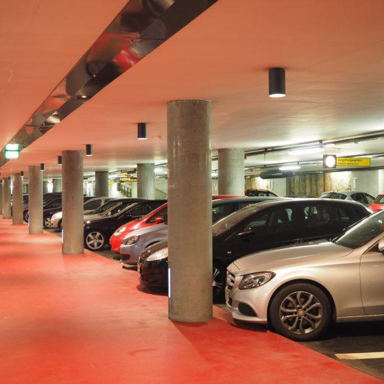 Solutions coupe-feu adaptées aux parkings