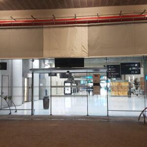 Rideau Fibershield BW Push&Pass- Gare de Monaco