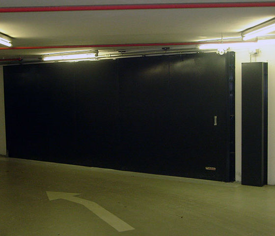 Porte Coulissante E60 – Tour T1 – La Défense – 2008