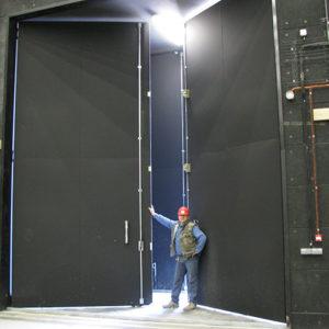 Porte Monumentale 59 db(A) – Citée du Cinéma – Saint Denis – 2011