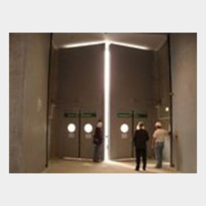 Porte de grandes dimensions E90, avec portillons IS – Parc des expositions Porte de Versailles à Paris