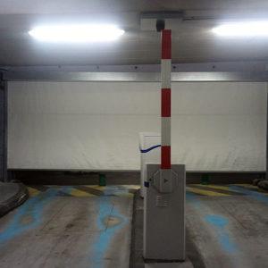 Rideau Souple FIBERSHEILD E60 – Parking Thonon Les Bains – 2014