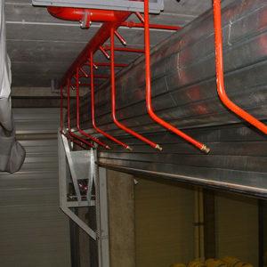 rideau Métallique Irrigué T120W EI120 – CASTEL – Bordeaux – 2003