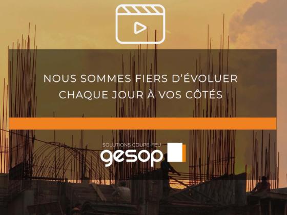 Vidéo solutions coupe-feu gesop 2019