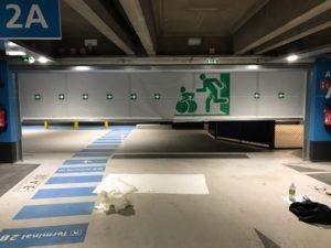 Rideau souple franchissable Push&Pass CDG Recto