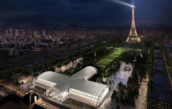 Projet du Grand Palais Ephémère, Champs de Mars