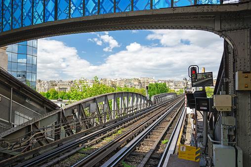 Station Bir Hakeim Paris