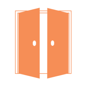 Portes battantes